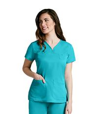 Top by Barco Uniforms, Style: 41340-684